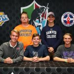 Five Seniors Sign LOI