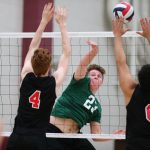 Holsapple Selected IBVCA All-Star, Several Academic All-State