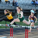 Girls Track & Field Place Seventh in Sectional, Hunt, Hastings, 4×100 Team Advance