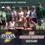 Girls Tennis Wins Back-to-Back Sectional Titles