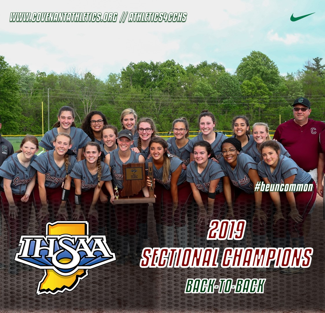 Softball Wins Back-to-Back Sectional Titles