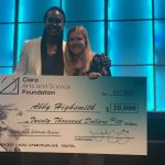 Highsmith Wins Scholarship