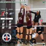 Girls Volleyball Showing Improvement