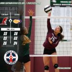 Girls VB Picks Up Conference Win