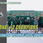 Boys Tennis Wins Fourth Straight Sectional Title