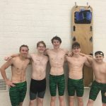 Swimming Sets New Records and Several PRs