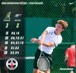 Boys Tennis Start Week with Two Wins