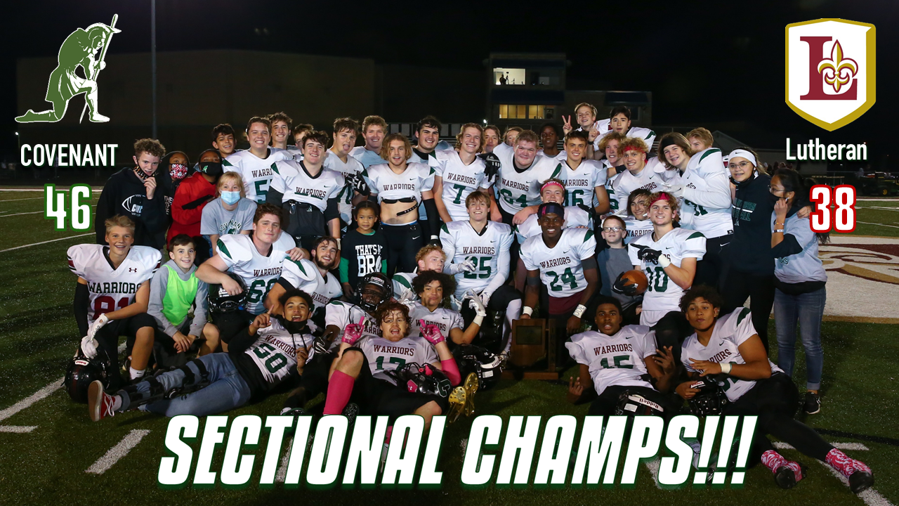 Football Wins Sectionals!