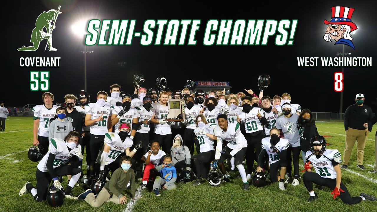 Football Wins Semi-State!