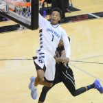 Can Spain Park's Jamal Johnson dunk better than Pelham's Alex Reese? Watch and vote