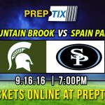 Mountain Brook v. Spain Park Game Day Information