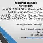 Junior Jag Spring Volleyball Clinics