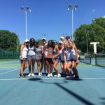 Girl's Tennis Team Runner Up at State; Three Take Singles Championship, Ellison Sisters Repeat as Doubles Champions