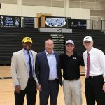 4 Jag Football Players Sign at Spring Ceremony