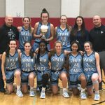 Spain Park High School Girls Varsity Basketball beat Hewitt-Trussville High School 62-55