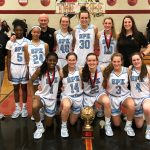 Girls Varsity Basketball beats Austin 63 – 48