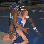Wrestlers at Mortimer Jordan Invitational