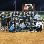Softball wins the Oxford Tournament to defend their title!