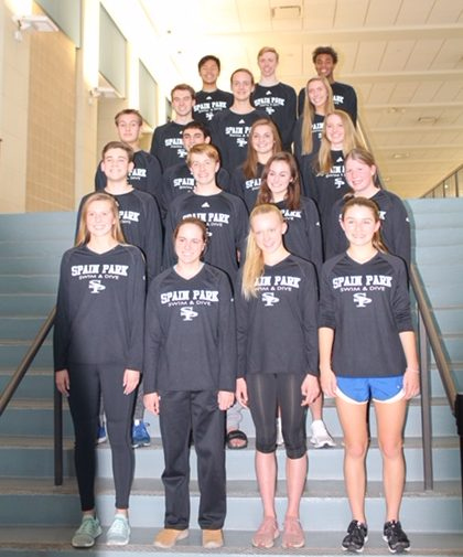 SPHS Swim and Dive Team State Results