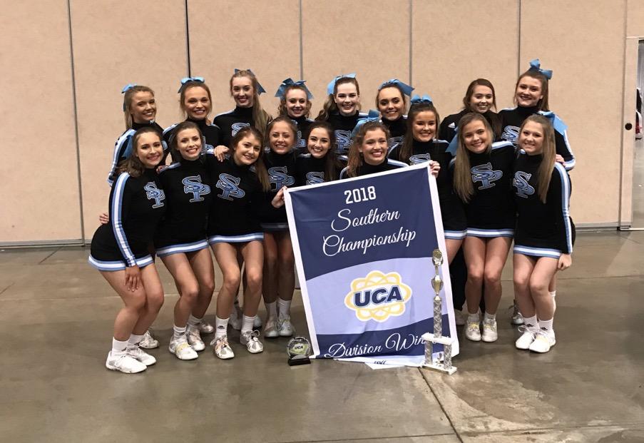 Jaguar Cheer takes top award at Regionals