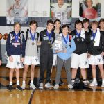 Wrestlers Place Third with Four Tournament Champions