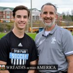 Soccer Athlete Honors Veterans and Supports Spain Park Families