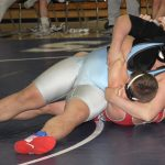 Wrestlers Clash at the Creek