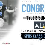 Spain Park Graduate Named to AL.com HS Football Team of the Decade