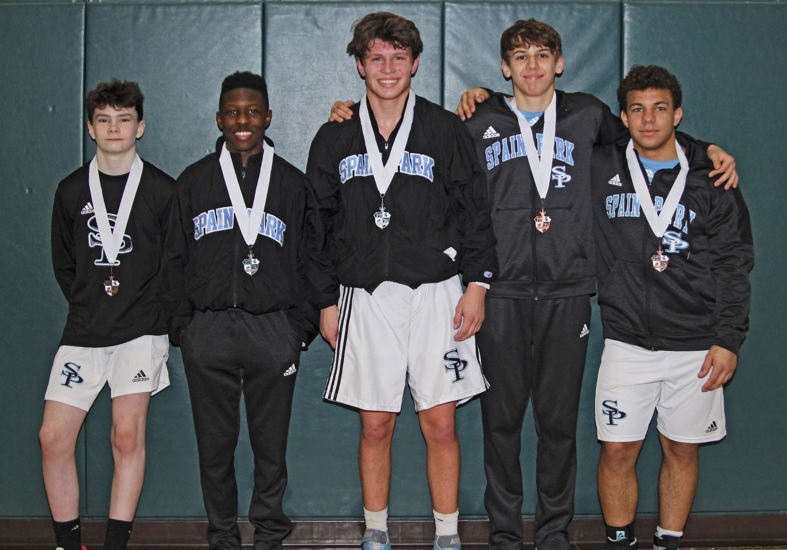 Five Wrestlers Medal at Mountain Brook Invitational