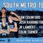 Basketball Athletes Named to All-South Metro Team