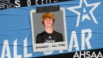 Edwards Named to AHSAA All-Star Soccer Team