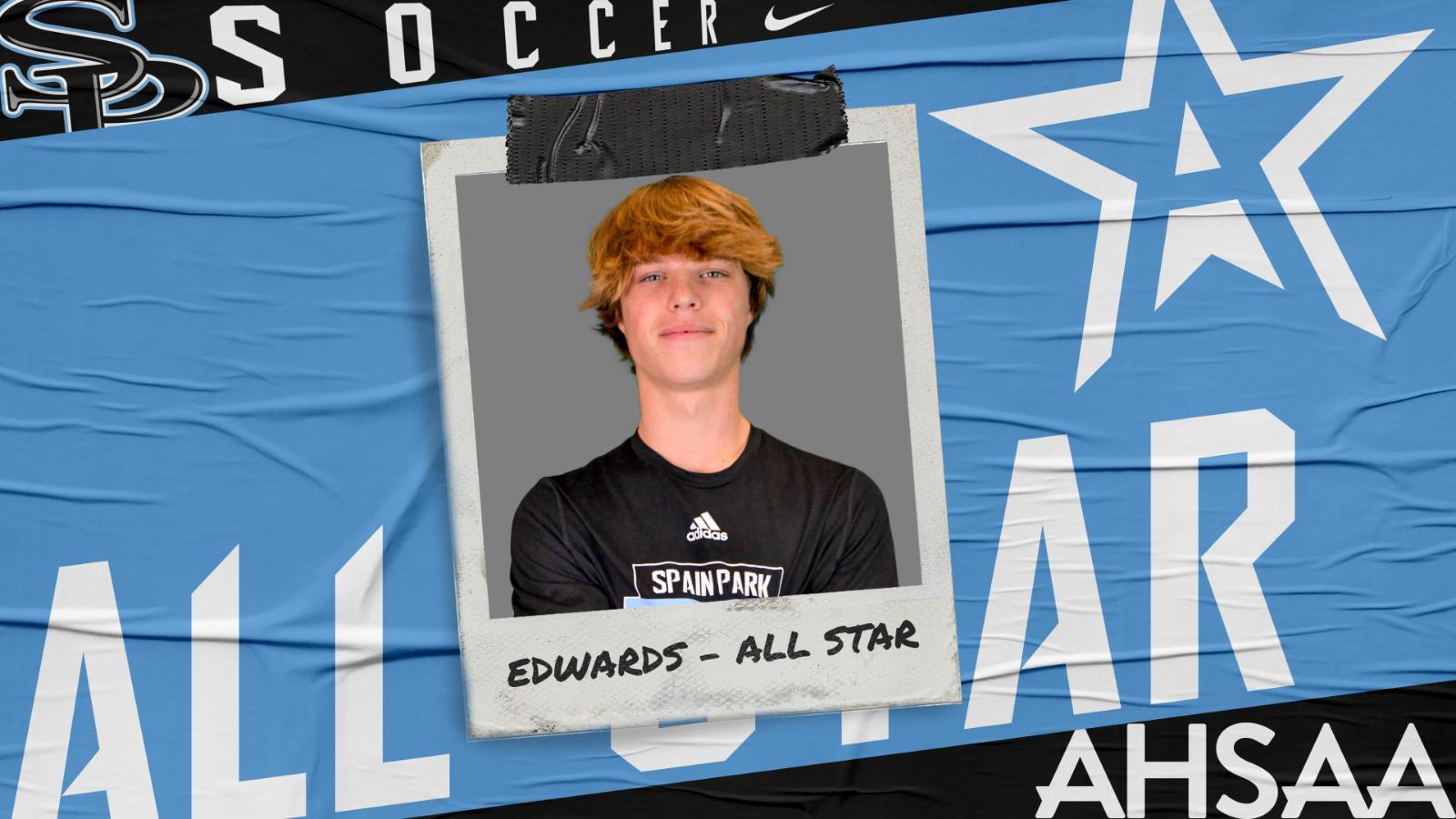 Edwards Named to AHSAA All-Star Soccer Team