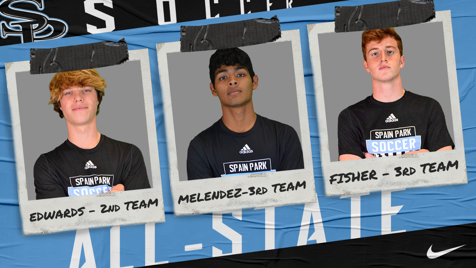 Three Soccer Athletes Named to 7A All-State Team