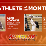And the Summers Plumbing, Heating & Cooling September Athlete of the Month is….