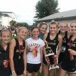 Girls Varsity Cross Country finishes 2nd place out of 18 teams at the Barr Reeve Inv.