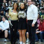 Boys Varsity Basketball Cheer - Senior Recognition