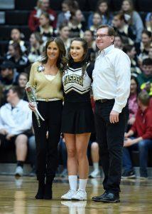 Boys Varsity Basketball Cheer – Senior Recognition