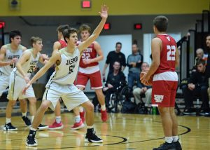 Boys Varsity Basketball – Jasper vs Tell City