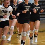 Girls Varsity Volleyball - Jasper vs Forest Park
