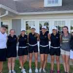 Girls Golf finishes 6th place of 18 at Whiteland Invitational – Legends