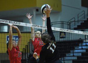 Volleyball – Jasper vs Southridge Scrimmage (V)