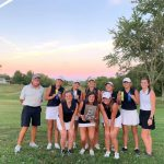 Girls Varsity Golf finishes 1st place at Big 8 Golf Tournament – Christmas Lake