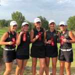 Girls Varsity Golf finishes 2nd place at IHSAA Sectional – Buffalo Trace