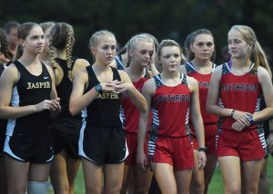 Cross Country – Jasper vs Southridge (V-Girls)