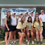 Girls Varsity Golf finishes 13th place of 18 at IHSAA Regional – Country Oaks Washington