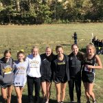 Girls Varsity Cross Country finishes 2nd place at IHSAA Sectional