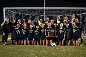 Soccer – Jasper Sectional Celebration (Girls)