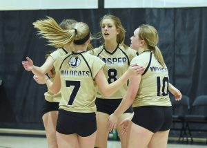 Volleyball – Jasper vs Boonville (F)