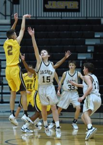 Basketball – Jasper vs Evansville Central (F-Boys)