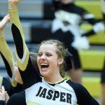 Cheer - Jasper vs Evansville Central Basketball